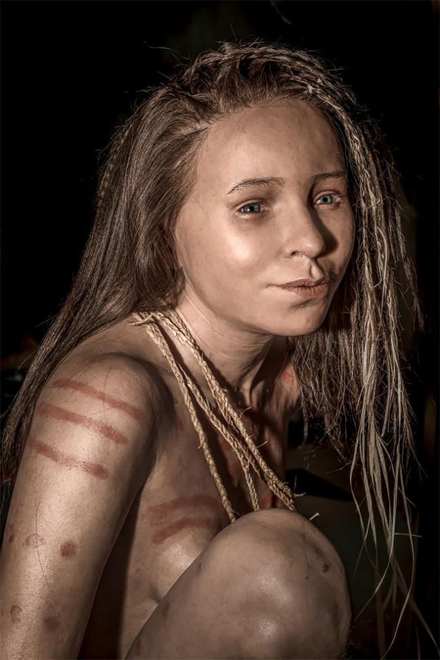 Когда перед вами появилось лицо человека, жившего тысячелетия назад