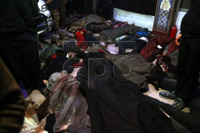 Фотосессия мертвых: как «Белые каски» снимали жертв химатаки в Думе