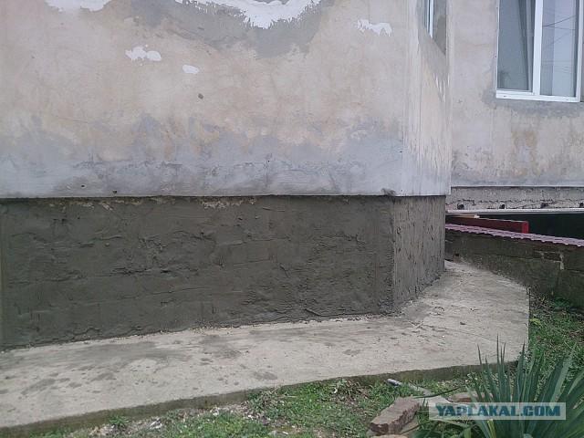 Фасадные работы или как я отгулял в очередном отпуске