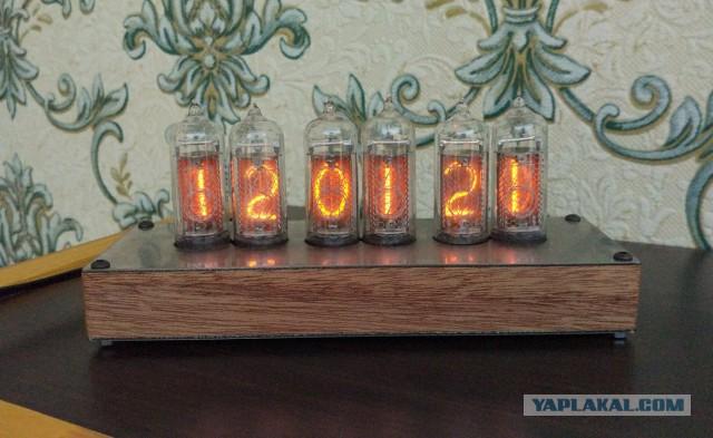Nixie clock: часы на 6 индикаторах ИН-14