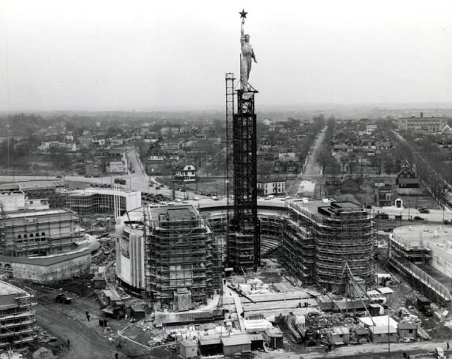 Строительство и демонтаж советского павильона на Всемирной выставке 1939 г. в Нью-Йорке
