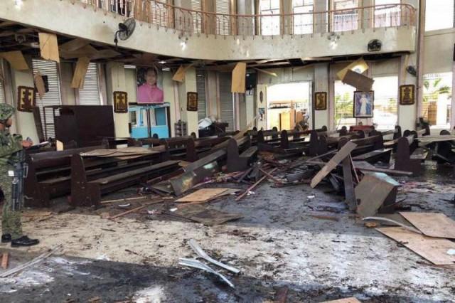 Террористическая атака церкви, 20 христиан погибло и 100 человек ранены на острове Джоло 27 января 2019 года