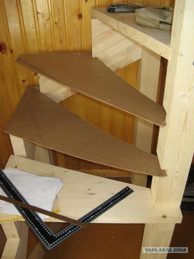Как нарисовать сову или лестница от сисадмина.