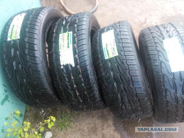 Продам комплект новых шин Toyo proxes st 2 285/50 r20