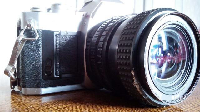 Canon AV-1 (1979) Объектив Tokina 25-50 f/ 4 RMC