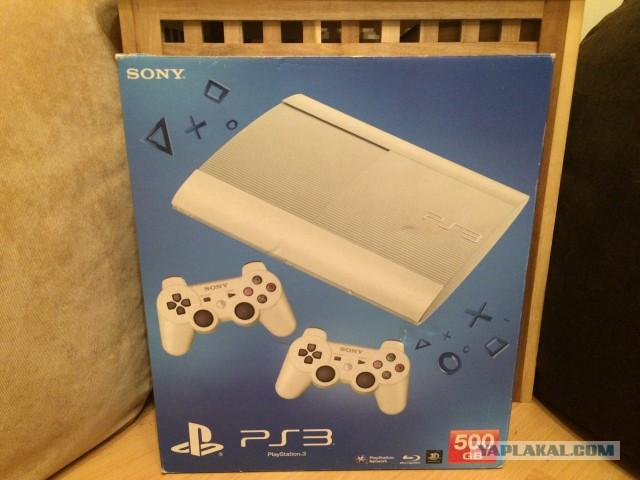 Sony PlayStation 3 Super Slim прошитая