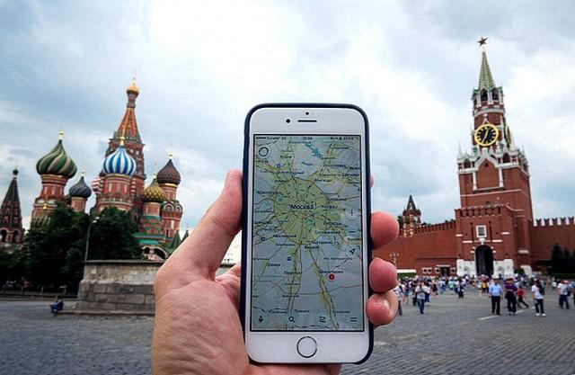Фотография на память на Красной площади в Москве
