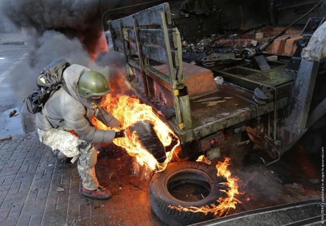 Война в Киеве все еще продолжается