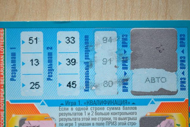 """""""Я вижу цифру 6, а мне говорят, что это 8"""". История о том, как девушка не выиграла в лотерею автомобиль"""