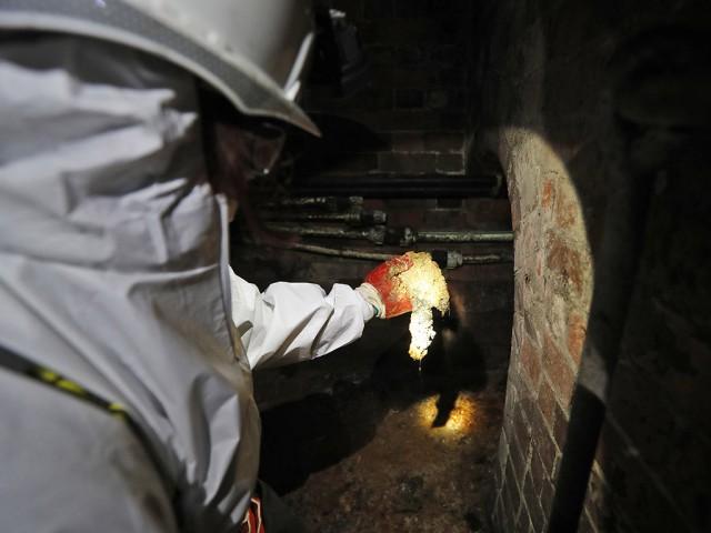 """Из канализации Лондона извлекли """"жирберг"""": глыбу жира длиной 250 м и весом в 130 тонн"""