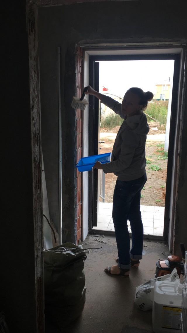 Моё посвящение в строительные рукоделы ч.2