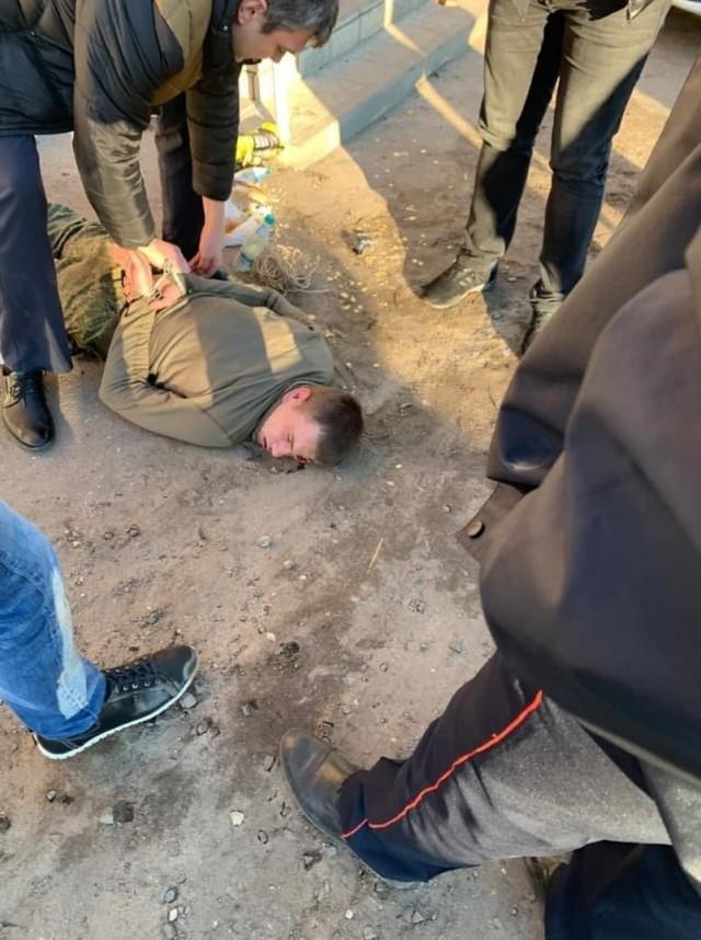 Антон Макаров, расстрелявший офицера и сослуживцев в воинской части в Воронеже, задержан в поселке Землянский