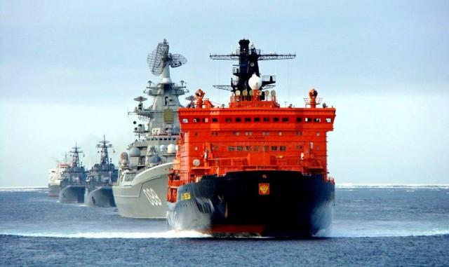 Россия ввела свои правила на использование иностранными кораблями и судами Северного морского пути.