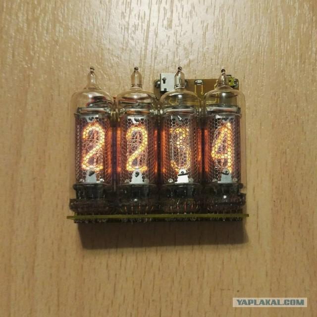"""Ламповые часы """"Неоника"""" на ИН-16 - основа"""