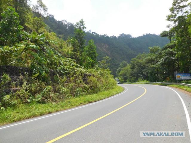 Путешествие на машине по югу Таиланда.