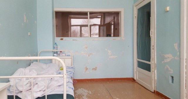 «Нормальная» палата матери и ребенка в инфекционке Усмани