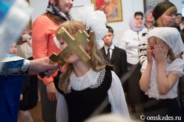 1 сентября в омской школе с христианским уклоном