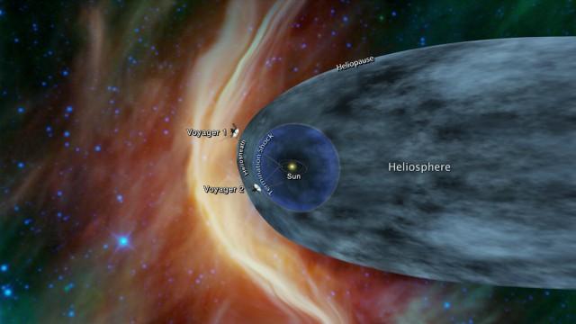 «Вояджер-2» приблизился к границе Солнечной системы и скоро окажется в межзвездном пространстве
