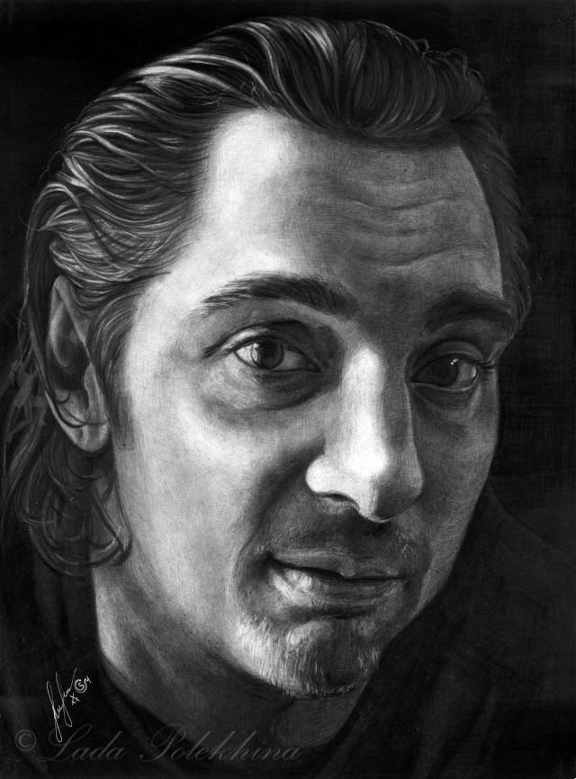 Михаил Горшенёв. Портрет