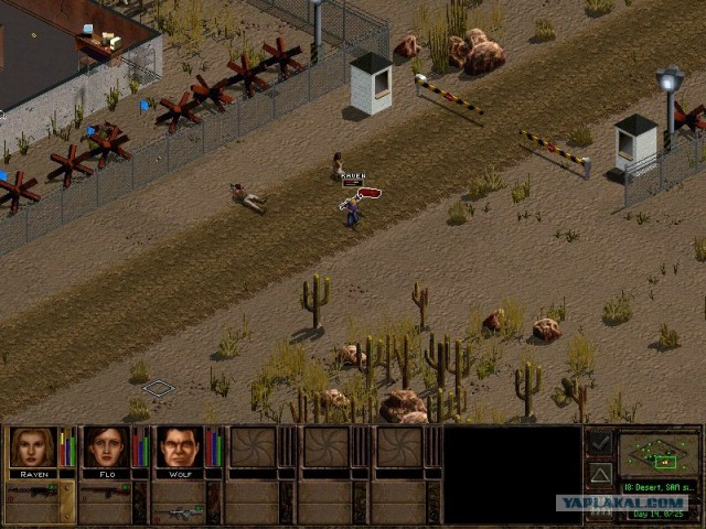 Скриншот из игры Jagged Alliance 2: Wildfire (Jagged Alliance 2: Возвращен