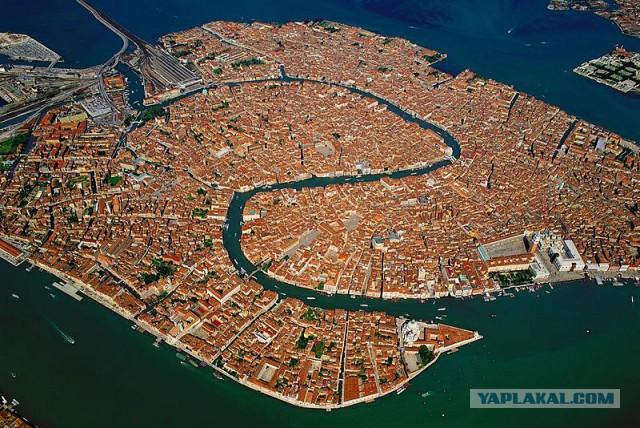 Венеция. Территории, ушедшие под воду