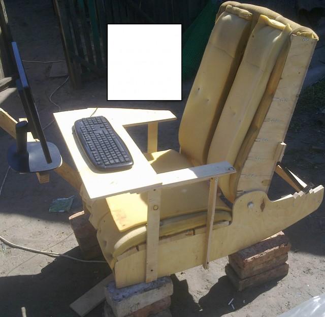 Как сделать кресло своими руками для компьютера 84