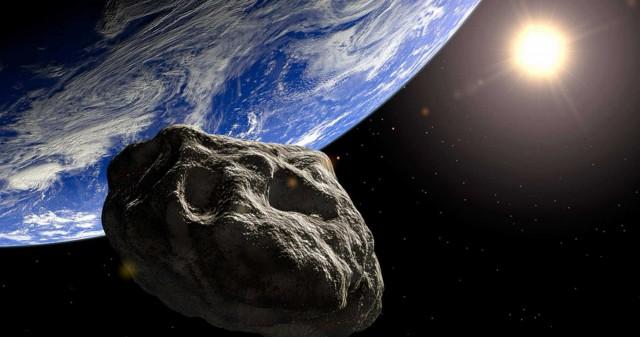 Прямо сейчас мимо Земли пронёсся километровый астероид AJ129