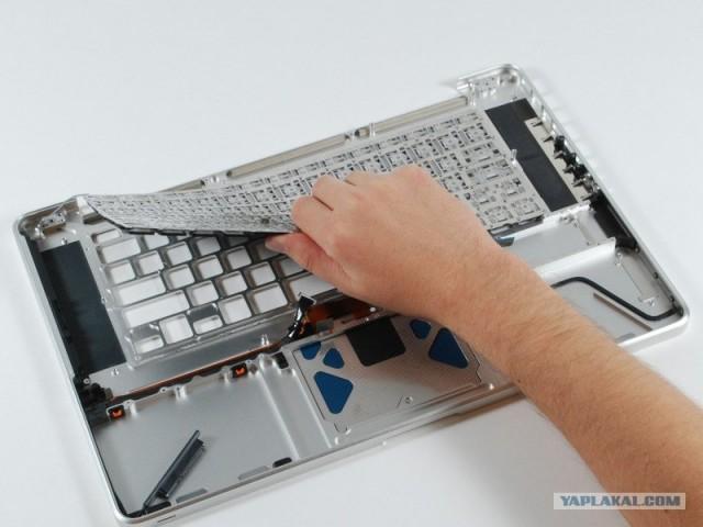 Как заменить клавиатуру на macbook pro своими руками - Spbteplichka.ru