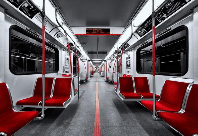 Вагоны метро разных стран