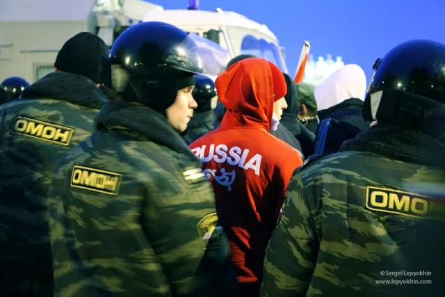 Акция «Стоп кавказский террор!» (Волгоград)
