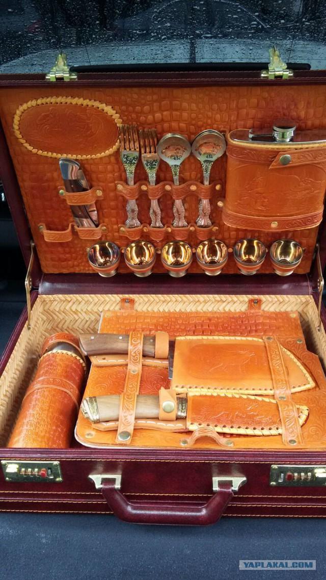 [Москва] Продам подарочный набор для шашлыка