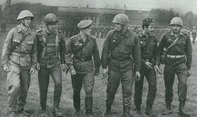 Солдаты армий стран Варшавского договора