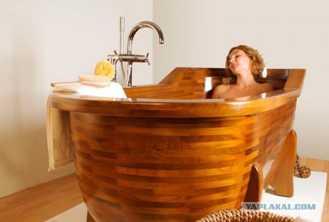 Деревянные ванны своими руками