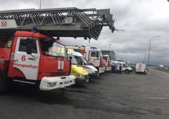 Самолет из Санкт-Петербурга готовится к аварийной посадке в Кольцово