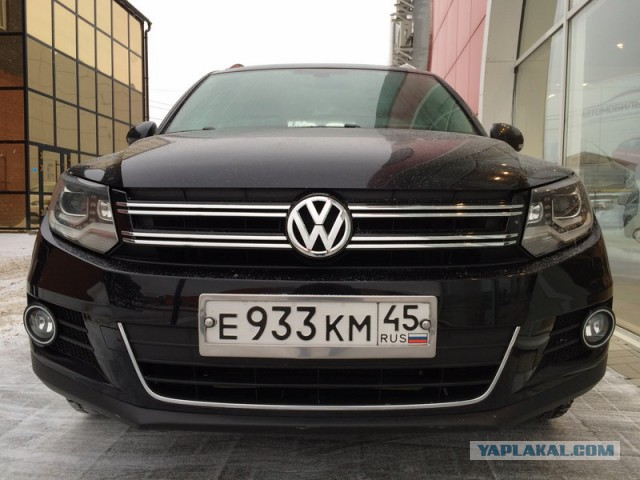 Продаю Volkswagen Tiguan 2012 г.в.
