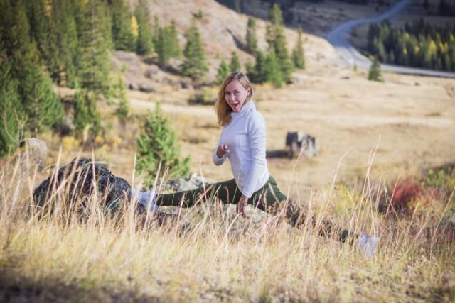 Осенний Алтай глазами маленькой московской блондинки