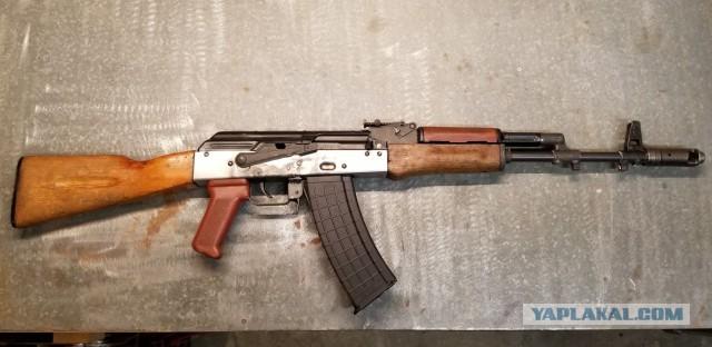 Собираем АК-74