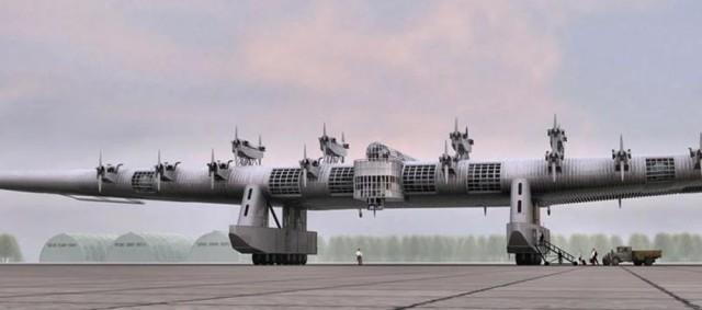 """Гигантский советский бомбардировщик """"К-7"""".Его конструктора приговорили к высшей мере наказания."""
