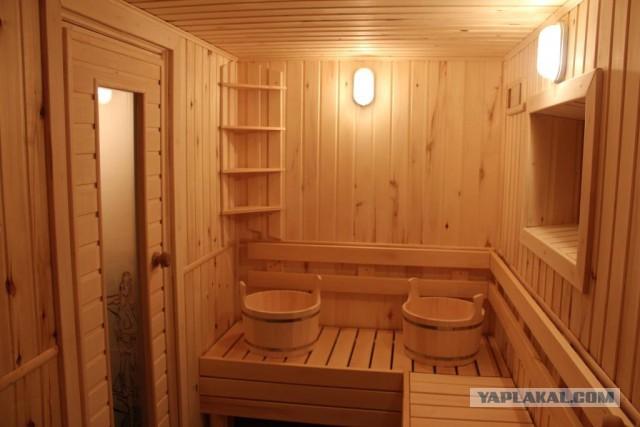 Фото и планировка бани
