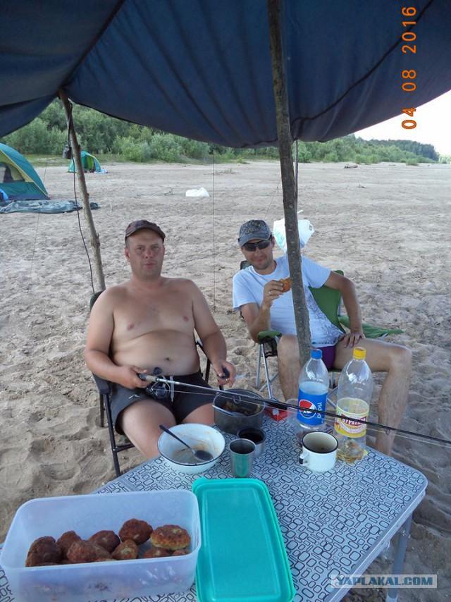 Сплав-рыбалка. Северный Чулым 29.07-07.08.2016.