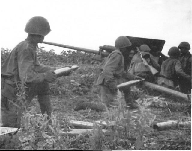 Противотанковый щит Сандомирского плацдарма.