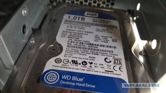 ПК i7, ОЗУ 8gb, HDD 1TB, Б\П 850w.