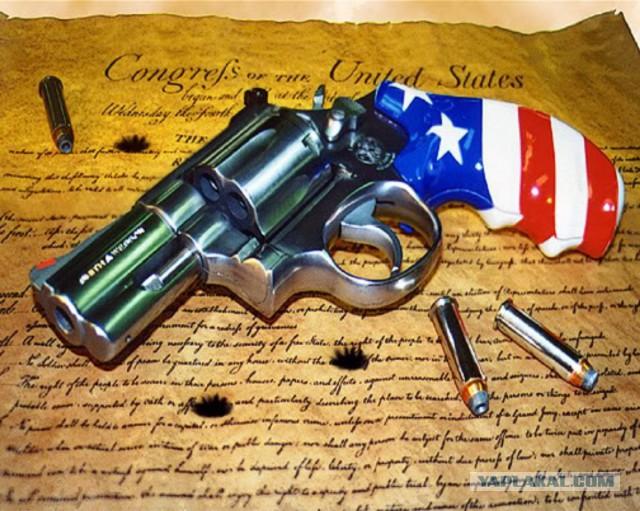 Гражданское оружие в США