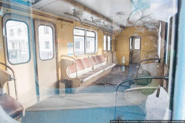 Самые маленькие вагоны московского метро