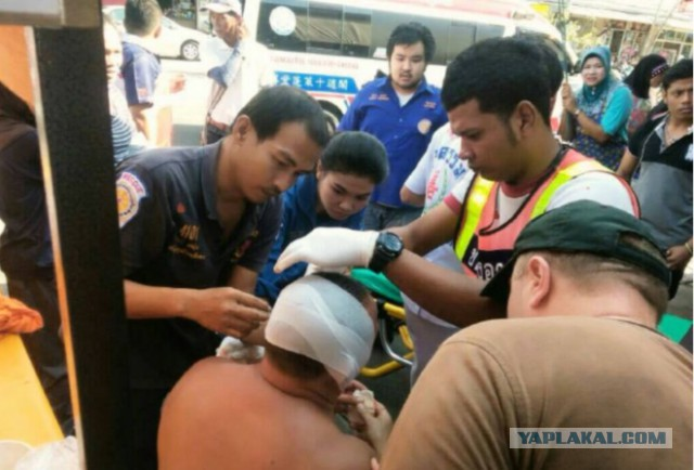 Россиянину отрезали ухо в Таиланде