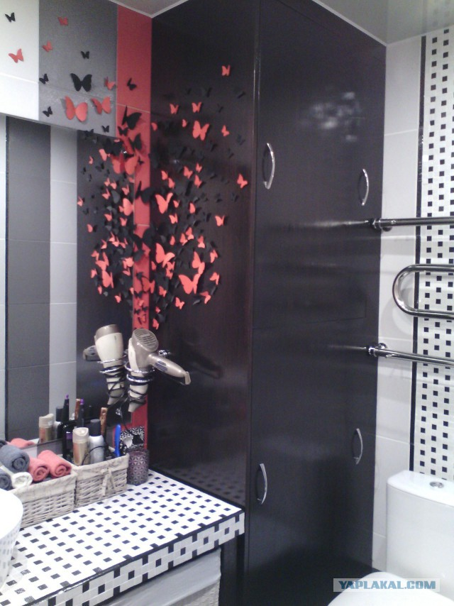 Кухня, ванная комната и балкон своими руками