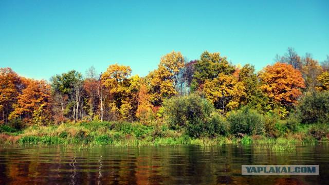 Сплав по реке Клязьма. Осень 2016.