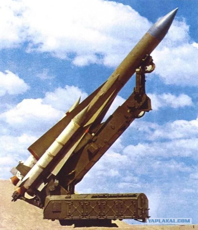 Израильская авиация уничтожила сирийскую батарею ЗРК С-200