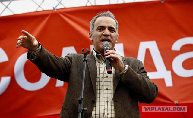 Каспаров: я рад, что Украина нанесла удар по Кремлю