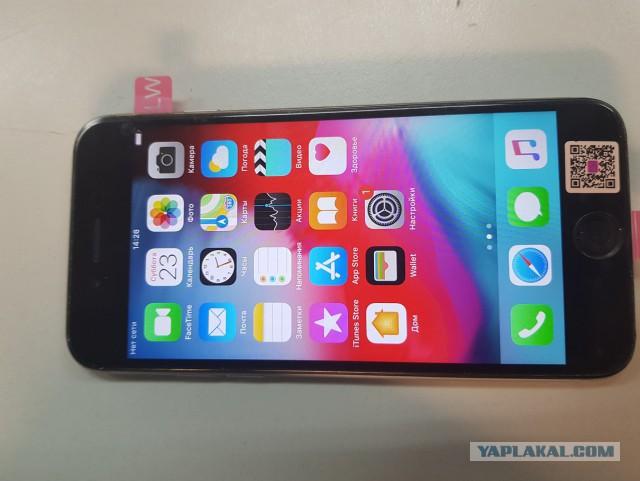 Продам Iphone 6 64 c дефектом и куплю amazfit bip